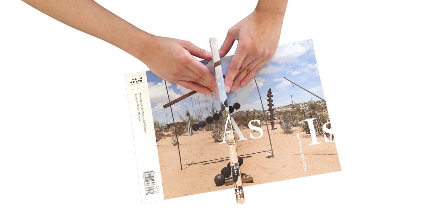 As Is: Noah Purifoy, Joshua Tree book